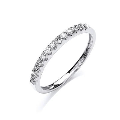 White Gold Eternity Rings