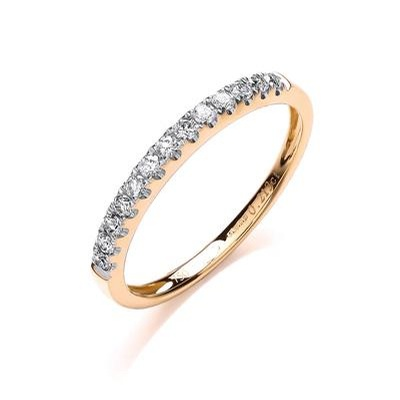 Yellow Gold Eternity Rings