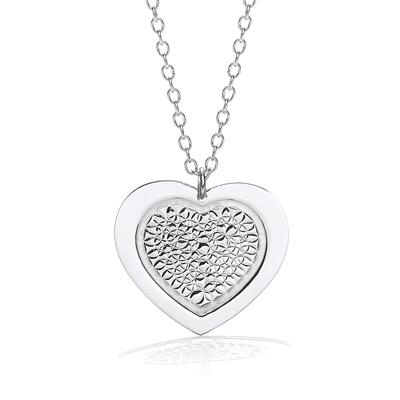 Heart Pendant with 18